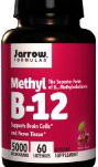 Jarrow Methyl B12, 5000mcg, 60 Lozenges