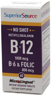 Superior Source NO shot B12 Methyl   cobalamin