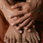 Numb hands or feet can be a first sign of low vitamin B12